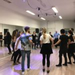 Rueda to end the Salsa class with fun 3rd February 17