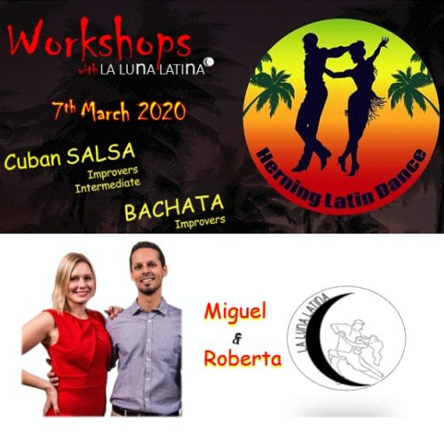 CubanBachata Workshops at Herning Latin Dance - 7th March 2020
