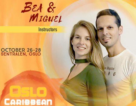 Oslo Caribbean Feeling 2018 - Bea & Miguel Instructors